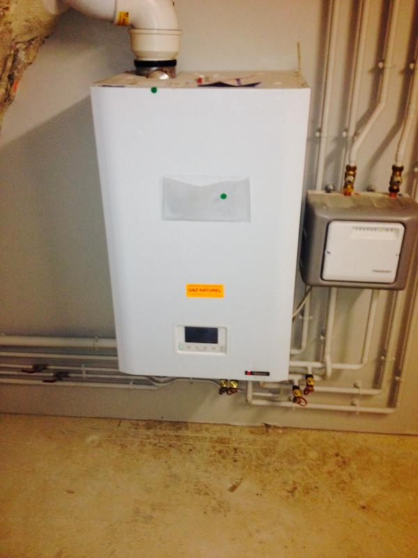 Gaz naturel à condensation